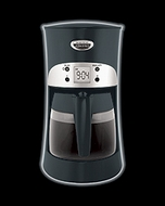 Hamilton Beach 40117 Eclectrics All-Metal Coffeemaker - click to enlarge