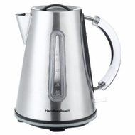 Hamilton Beach 40999 10-Cup Electric Stainless-Steel Tea Kettle - click to enlarge