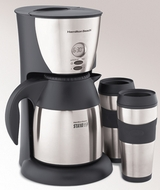 Hamilton Beach 45235 Stay or Go Thermal Coffeemaker - click to enlarge