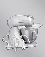 Hamilton Beach 63220 Eclectrics  Stand Mixer - click to enlarge