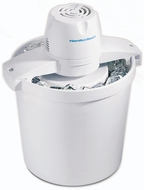 Hamilton Beach 68330 4 qt. Bucket Ice Cream Maker - click to enlarge