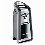 Hamilton Beach 76607 Smooth Touch Can Opener- Black and Charcoal