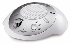 �Homedics SS20001 Sound Spa Relaxation Machine with 6 Nature Sounds, Silver - click to enlarge