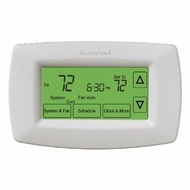 Honeywell RTH7600 Vision Touchscreen 7 Day Programmable Thermostat - click to enlarge