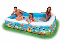 Intex Swim Center Family Pool 10' x 6' x 22'' deep - click to enlarge
