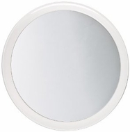 Jerdon JSC5 9 Inch Portable Suction Shower Mirror with 5x Magnification and Clear Vinyl Travel Case, Chrome and Acrylic Finis - click to enlarge