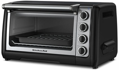 KitchenAid Countertop Oven, Countour Silver - click to enlarge