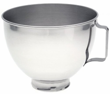 KitchenAid K45SBWH Bowl for Pivot Head Stand Mixer - click to enlarge