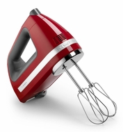 KitchenAid KHM720ER 7-Speed Digital Hand Mixer, Empire Red - click to enlarge