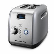 KitchenAid KMT223CU 2-Slice Toaster, Countour Silver - click to enlarge