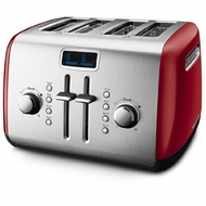 KitchenAid KMT422ER 4-slice Mid Line Manual Toaster, Empire Red - click to enlarge