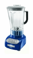 KitchenAid KSB560BW 5-Speed Blender with Polycarbonate Jars, Blue Willow - click to enlarge