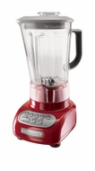 KitchenAid KSB560ER 5-Speed Blender with Polycarbonate Jars, Empire Red - click to enlarge