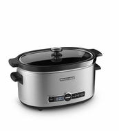KitchenAid KSC6223SS 6 Quart Slow Cooker With Standard Lid, Stainless Steel - click to enlarge