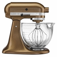 KitchenAid KSM155GBQC Artisan Design 5-Quart Stand Mixer, Antique Copper - click to enlarge
