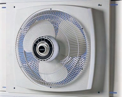 Lasko 2155A 16'' Reversible Window Fan - click to enlarge
