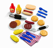 Little Tikes Backyard Barbeque Grillin Goodies - click to enlarge