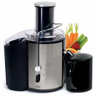 Maxi-Matic EJX-9700 Elite Platinum Stainless-Steel 2-Speed Whole-Fruit Juice Extractor - click to enlarge