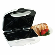 Maxi-Matic ESM-9002K Elite Cuisine Sandwich Maker with Non-Stick White - click to enlarge