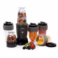 MaxiMatic EPB-1800 Elite Cuisine 300-Watt 17-Piece Personal Drink Blender  Black - click to enlarge