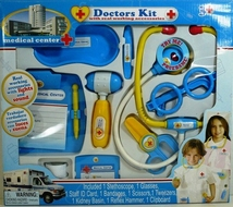 Medical Center Doctors Kit with Real Working Accessories - click to enlarge