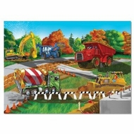 Melissa and Doug 0030 pc Construction Site Cardboard Jigsaw - click to enlarge