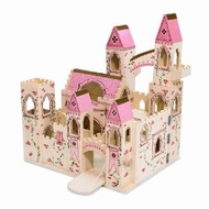 Melissa and Doug 1263 Deluxe Folding Princess Castle - click to enlarge