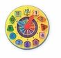 Melissa and Doug 159  Wooden Shape Sorting Clock
