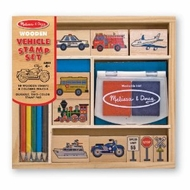 Melissa and Doug 2409 Vehicles Stamp Set - click to enlarge