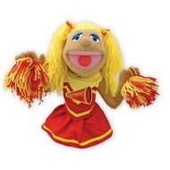 Melissa and Doug 2554 Cheerleader Puppet - click to enlarge