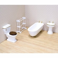 Melissa and Doug 2584 Doll House Bathroom Furniture - click to enlarge