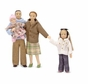 Melissa and Doug 2587 Victorian Doll Family - Caucasian