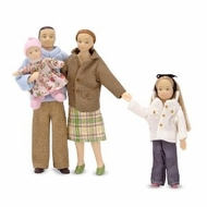 Melissa and Doug 2587 Victorian Doll Family - Caucasian - click to enlarge