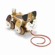 Melissa and Doug 3028 Playful Puppy Pull Toy - click to enlarge