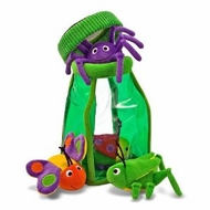 Melissa and Doug 3046 Deluxe Bug jug Fill and Spill Soft Baby Toy - click to enlarge