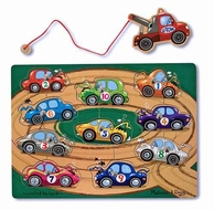 Melissa and Doug #3777 Tow Truck Magnetic Puzzle Game - click to enlarge