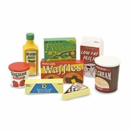Melissa and Doug 4076 Fridge Food Set - click to enlarge