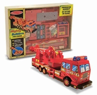 Melissa and Doug #4092 Mighty Builders Fire Engine - click to enlarge