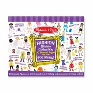 Melissa and Doug 4190 Sticker Collection - Fashion - click to enlarge