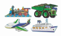 Melissa and Doug #432 Going Places Floor Puzzle - click to enlarge