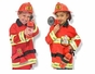 Melissa and Doug 4834 Fire Chief Role Play Costume Set