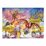 Melissa and Doug 500 pc Dragon Storm Cardboard Jigsaw - click to enlarge