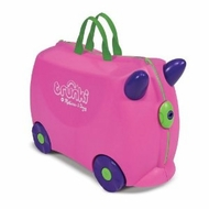 Melissa and Doug 5401 Trunki Trixie Rolling Kids Luggage (Pink) - click to enlarge