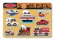 Melissa and Doug #725 Vehicles Sound Puzzle