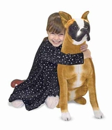 Melissa and Doug Boxer Plush Stuffed Animal - click to enlarge