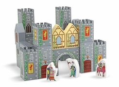 Melissa and Doug Castle Blocks Play Set - click to enlarge