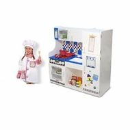 Melissa and Doug Classic Deluxe Kitchen & Chef Role Play Set - click to enlarge