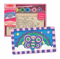 Melissa and Doug Create a Craft Party Favors : Butterfly Paint By Numbers - click to enlarge