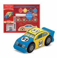 Melissa and Doug Create a Craft Party Favors : Race Car - click to enlarge