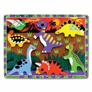 Melissa and Doug Dinosaurs Chunky Puzzle - click to enlarge